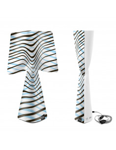 Lampe à poser L'ESAGERATA en PVC au design contemporain