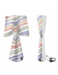 Lampe à poser La romantica en PVC au design contemporain