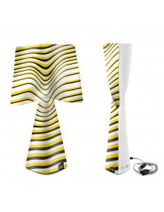 Lampe à poser La solare en PVC au design contemporain