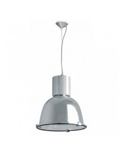 Suspension Usine 2 en aluminium au design industriel