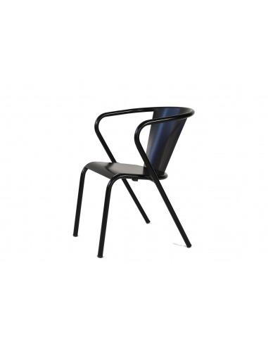 chaise de bistrot portugais en m tal gon alo au style vintage. Black Bedroom Furniture Sets. Home Design Ideas