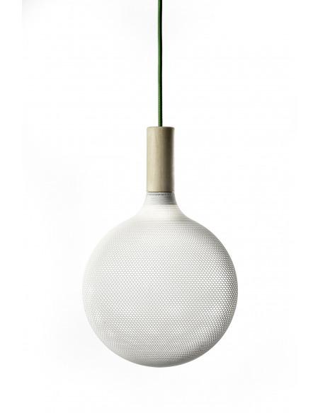 Suspension AFILLIA SFE Led fabriquée avec la technique de l'impression 3D