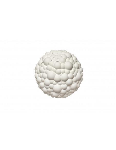 Applique Bolle Led fabriquée avec la technique de l'impression 3D en forme de nuage