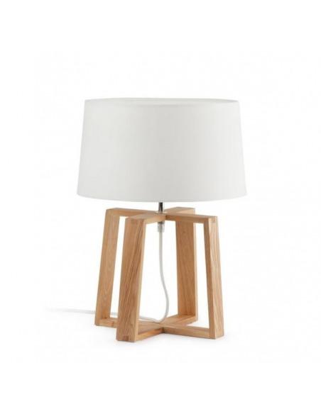 Lampe à poser KIA en bois au design scandinave et moderne