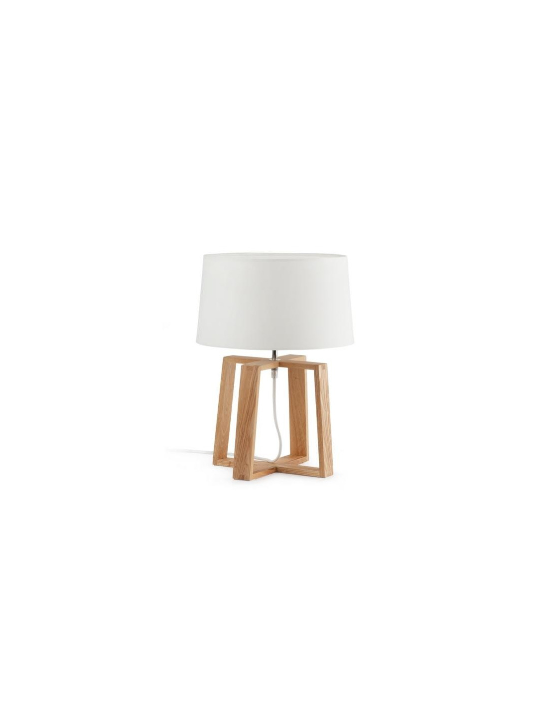 lampe poser kia en bois au design scandinave et moderne. Black Bedroom Furniture Sets. Home Design Ideas