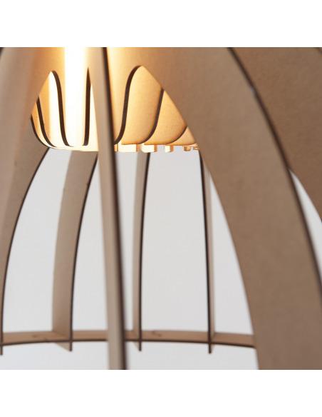 Suspension en bois GRANNY SMITH découpé au laser au design scandinave