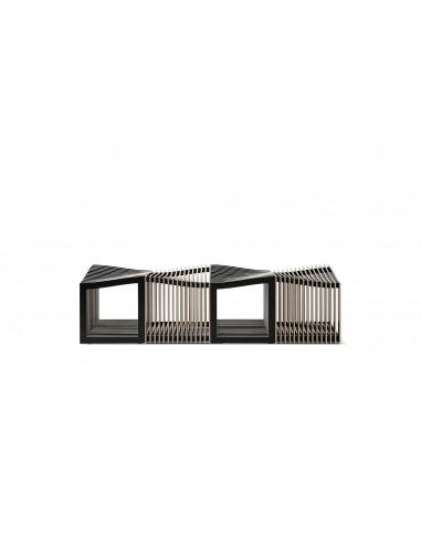 Tabouret design original Falon en bois au design scandinave