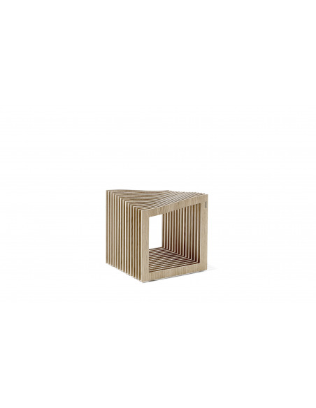 Tabouret design original Falon en bois au design scandinave