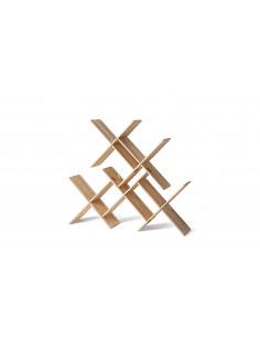 Étagère modulable bibliothèque x5 pièces design Dynks