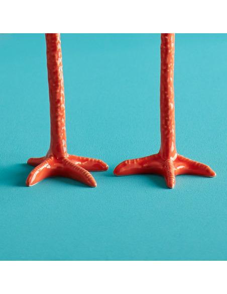 Bougeoir design Long Legs par Jasmin Djerzic