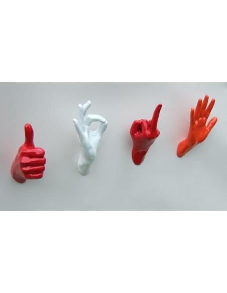 Patère originale et design Hand Job Thumbs par Thelermont Hupton