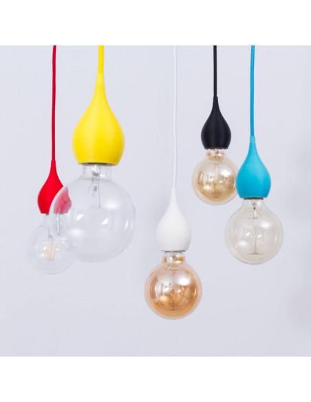 Suspension moderne Susan de couleurs différentes au design simple
