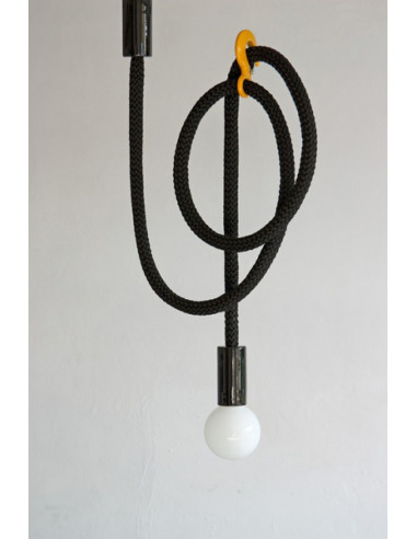 Suspension design corde avec crochet modulable Hook Line