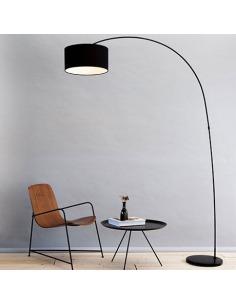 lampadaire lune au design original et moderne floor moon en nebulite otoko. Black Bedroom Furniture Sets. Home Design Ideas