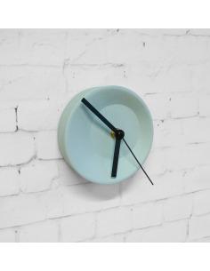Horloge modulable petite Off center clock en céramique