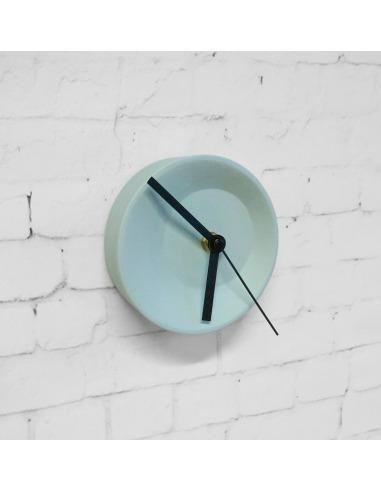 Horloge modulable Off center clock en céramique