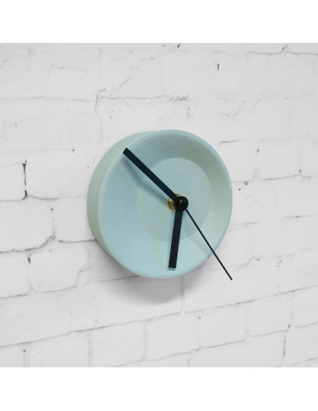 Horloge modulable Off center clock en céramique