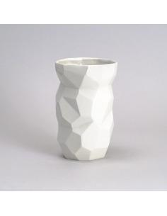 Vase design géométrique Poligon Vase en porcelaine