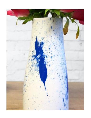 Vase design Splash Vase en céramique