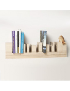 Étagère bibliothèque design Miami Skylane