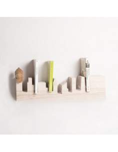 Étagère bibliothèque design Chicago Skylane