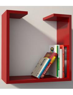 Étagère bibliothèque design moderne Qbetto big