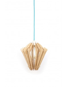 Lampe en bois design Hypocrite