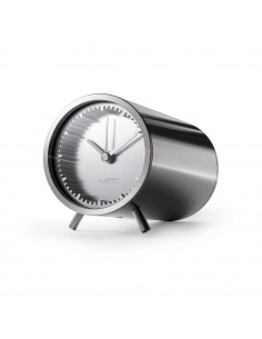Horloge Tube clock en acier par Piet Hein Eek