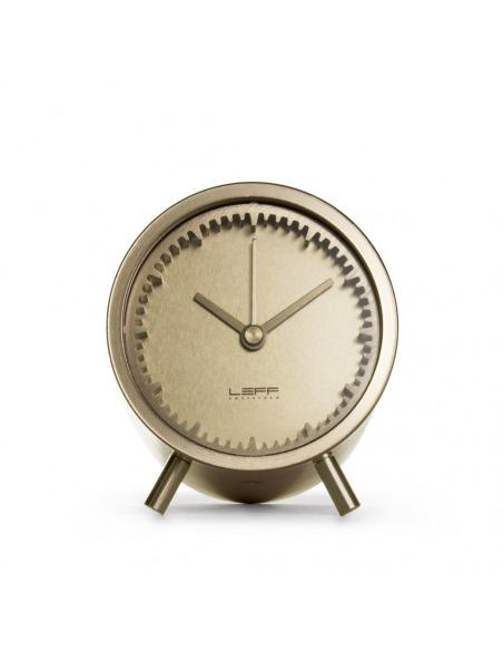 Horloge Tube clock en laiton par Piet Hein Eek