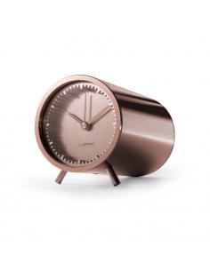 Horloge Tube clock en cuivre par Piet Hein Eek