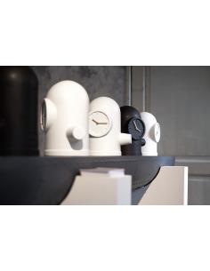 horloge murale design freakishclock rose en aluminium. Black Bedroom Furniture Sets. Home Design Ideas