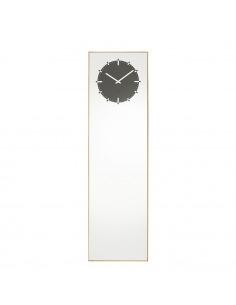 Horloge miroir Inverse natural par Richard Hutten