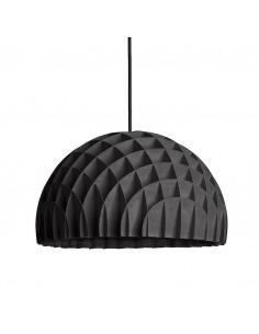 Suspension géométrique Arc Lustre en bouleau noir par lawa design