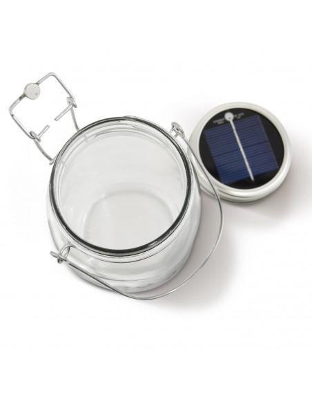Lampe solaire écologique Solar Jar en forme de bocal au design vintage by consol