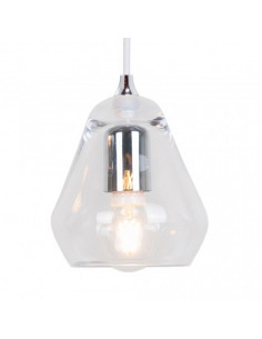 Suspension vintage Core en verre transparent par Innermost