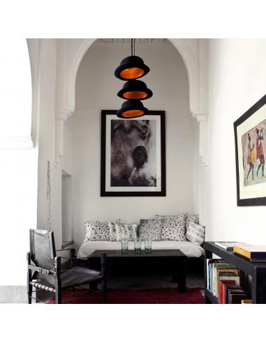 Suspension Jeeves en forme de chapeau melon par Innermost