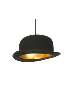 Suspension Jeeves en forme de chapeau melon par Innermost