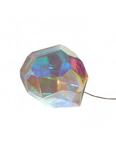 Lampe à poser en verre pétrol ASTEROID par Koray OZGEN et Innermost