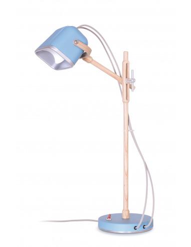 Lampe à poser vintage MOB en bois par Swabdesign