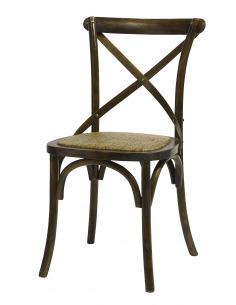 Chaise vintage X naturel en chêne par Nordal
