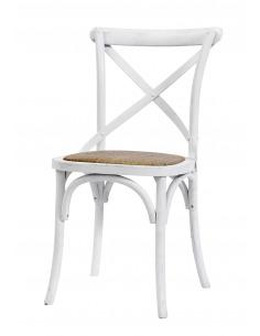 Chaise vintage X blanc en chêne par Nordal
