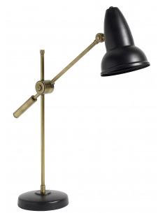 Lampe à poser vintage Top Hat en laiton par Nordal