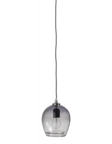 Suspension en verre teinté fumé petite Bubble par Nordal