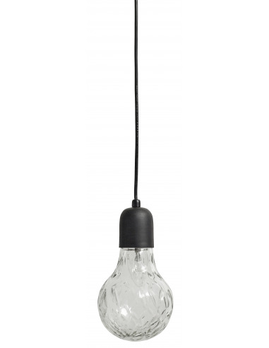 Suspension Crystal Bulb en cuivre et en verre par Nordal