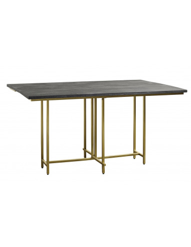 table manger en bois de mangue au design scandinave par nordal. Black Bedroom Furniture Sets. Home Design Ideas