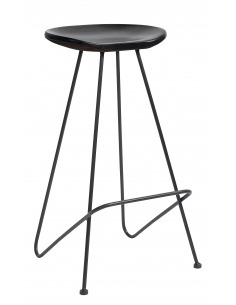 Tabouret design Bar chair en fer par Nordal
