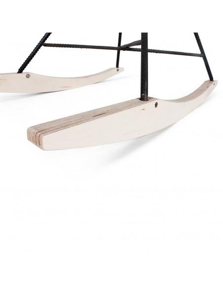 Chaise Hauteville Rocking chair en béton par Lyon Beton