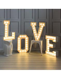 Lampe de sol Vegaz en métal avec des ampoules à Led au style industriel par Seletti