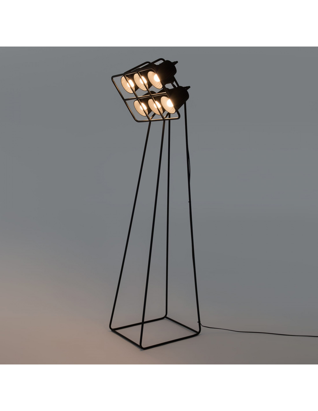 Par Seletti Lampadaire Multilamp Au Industriel Style ARc35jqL4