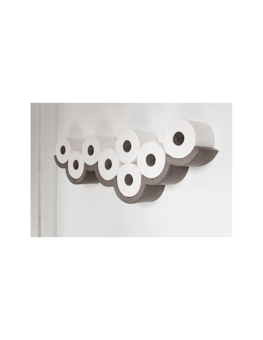 etag re cloud m d coration pour papier toilettes en b ton otoko. Black Bedroom Furniture Sets. Home Design Ideas